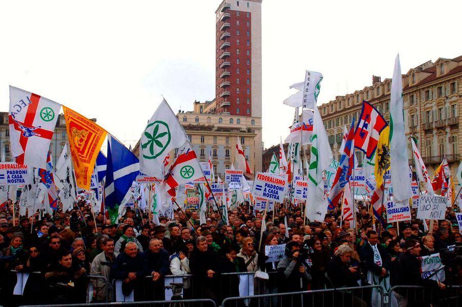 La Ligue du Nord rêve de Padanie, Italie