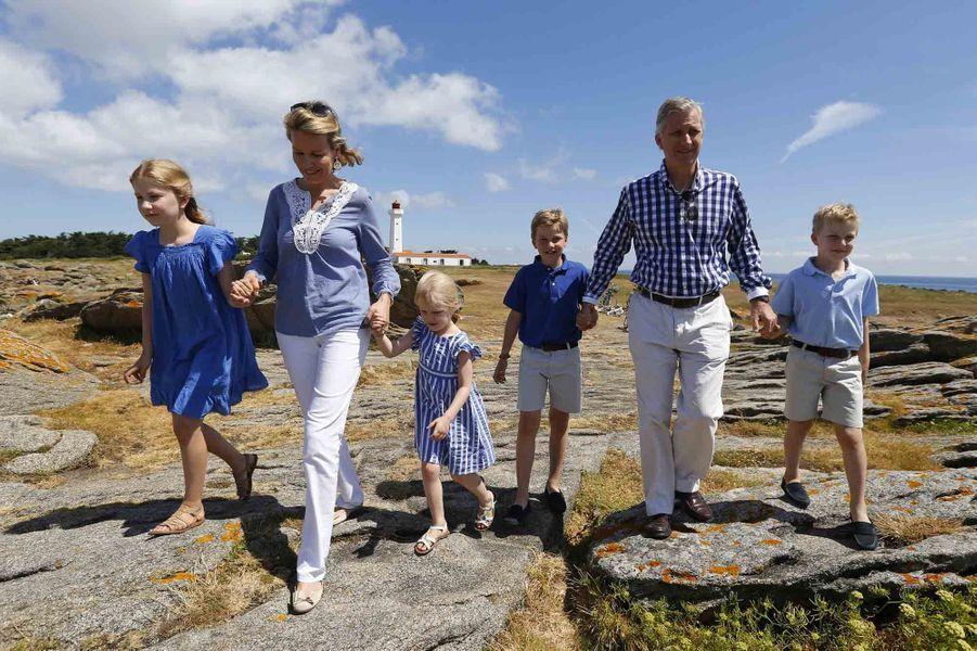 Les vacances françaises du roi Philippe de Belgique