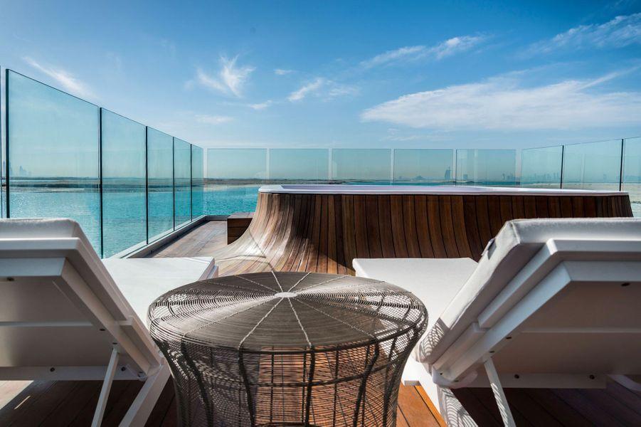 """La villa """"Floating Seahorse"""" aux Emirats arabes unis"""