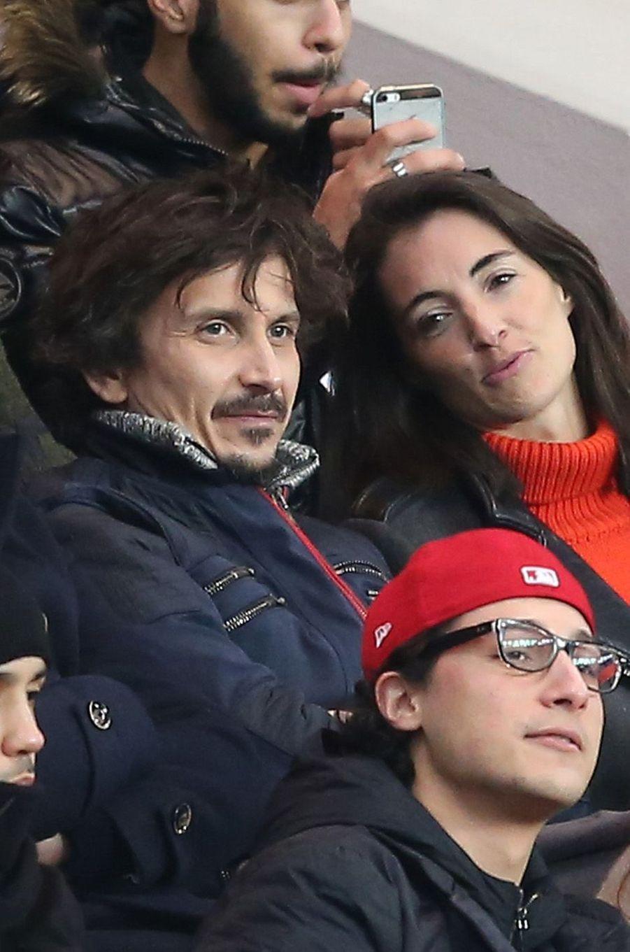 Arnaud Tsamere et sa compagne Margot Laffite