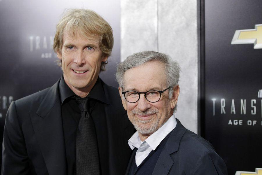 Michael Bay et Steven Spielberg