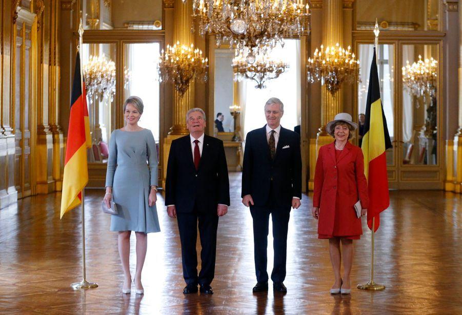 Mathilde et Philippe déroulent le tapis rouge