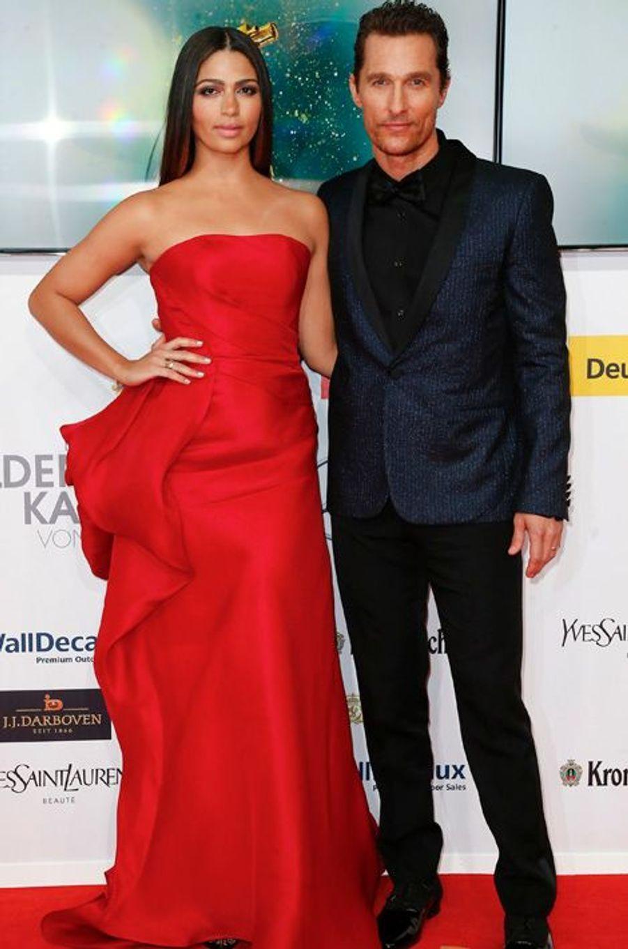 Matthew McConaughey et son épouse Camila Alves