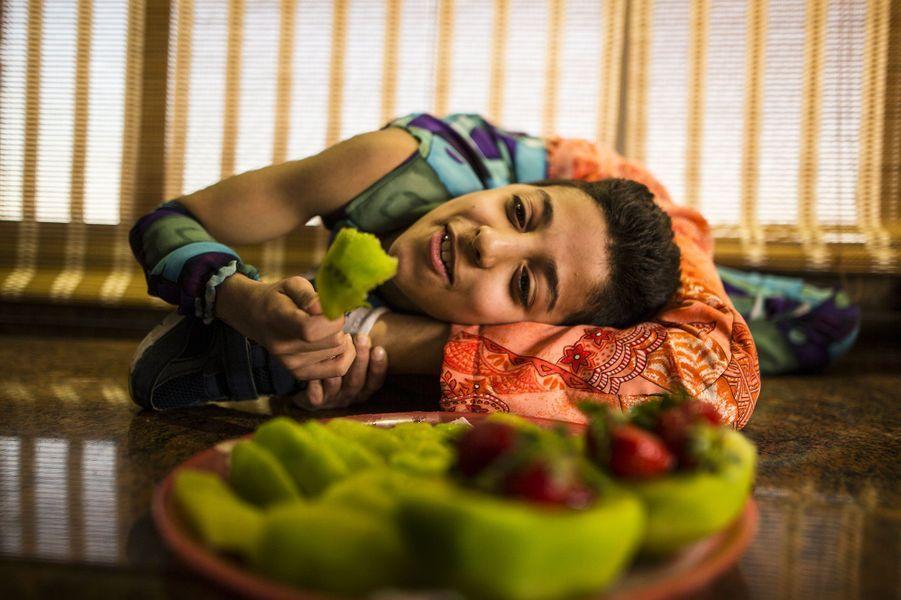 Mohamed, l'enfant araignée de Palestine