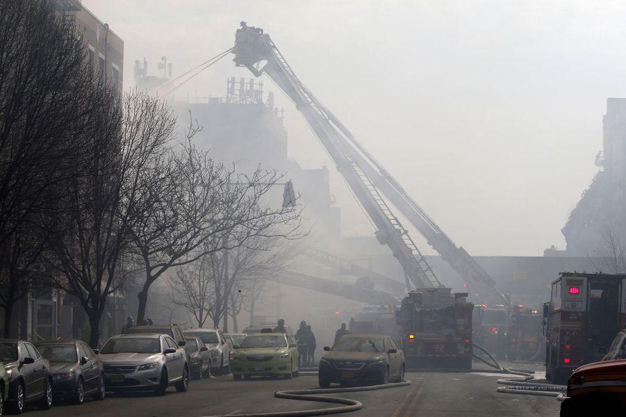 Mortelle explosion à Manhattan