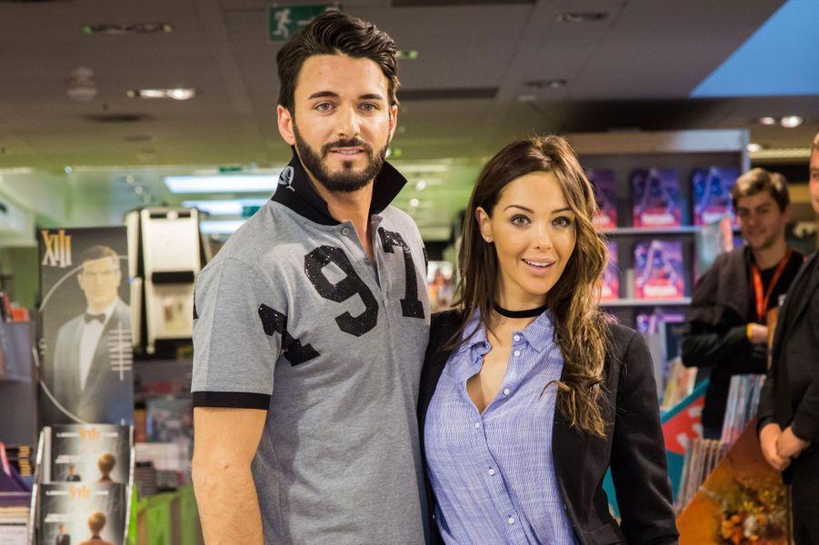 Nabilla et Thomas Vergara à la librairie Filigranes