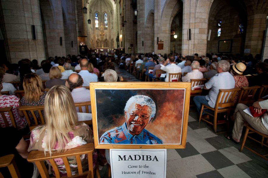 A la cathédrale St. George, à Cape Town