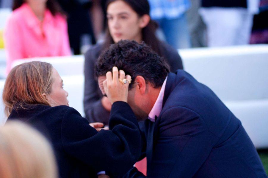 Mary-Kate Olsen et Olivier Sarkozy samedi soir à un gala de charité à New York