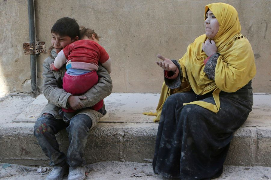 Pas de répit à Alep