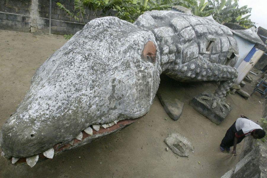 La maison-crocodile (Côte-d'Ivoire)