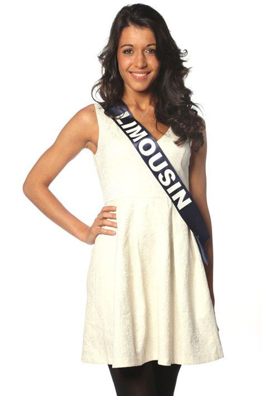 Caroline Dubreuil, 21 ans, Miss Limousin