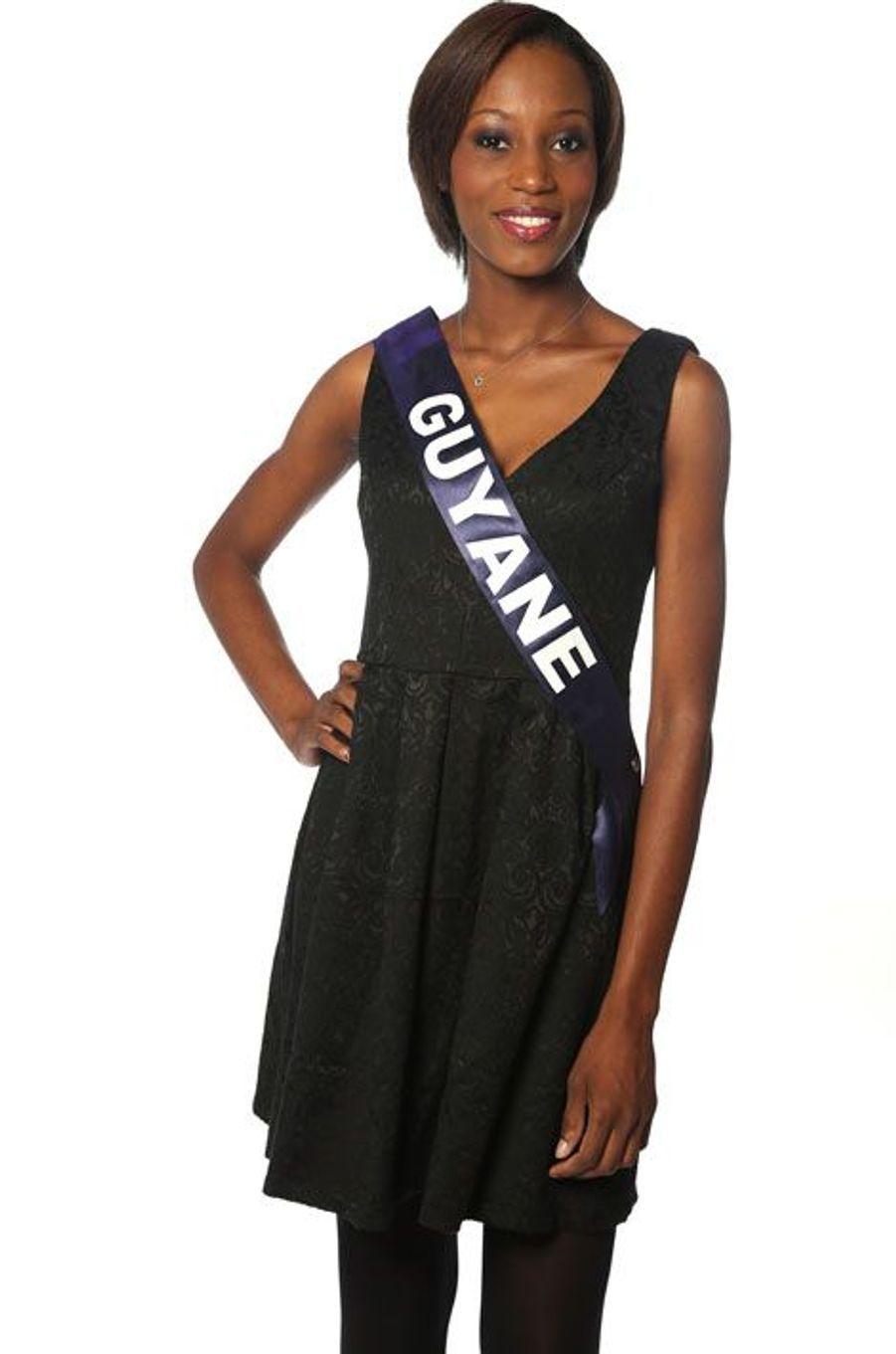 Henriette Groneveltd, 21 ans, Miss Guyane