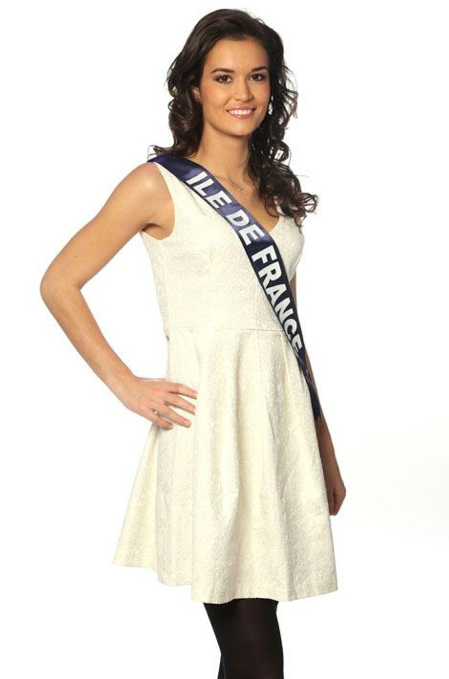 Leaticia Vuillemard, 20 ans, Miss Ile de France