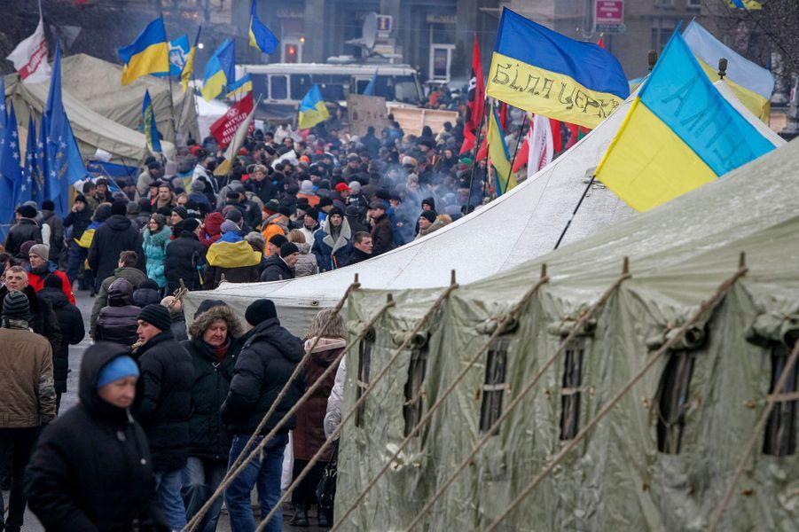 Regain de colère à Kiev
