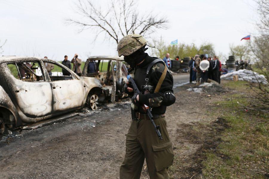 Regain de tension à Slaviansk