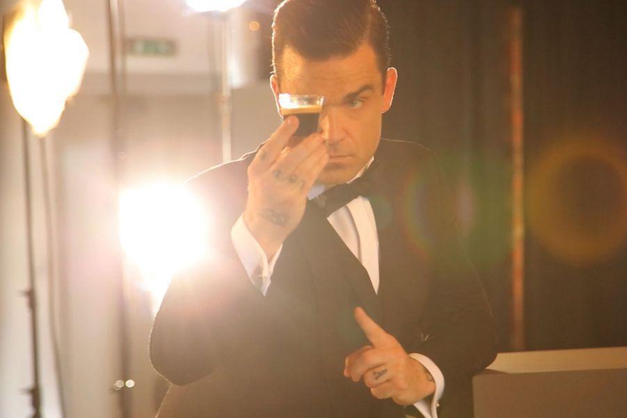 Robbie Williams, agent de choc pour Café Royal