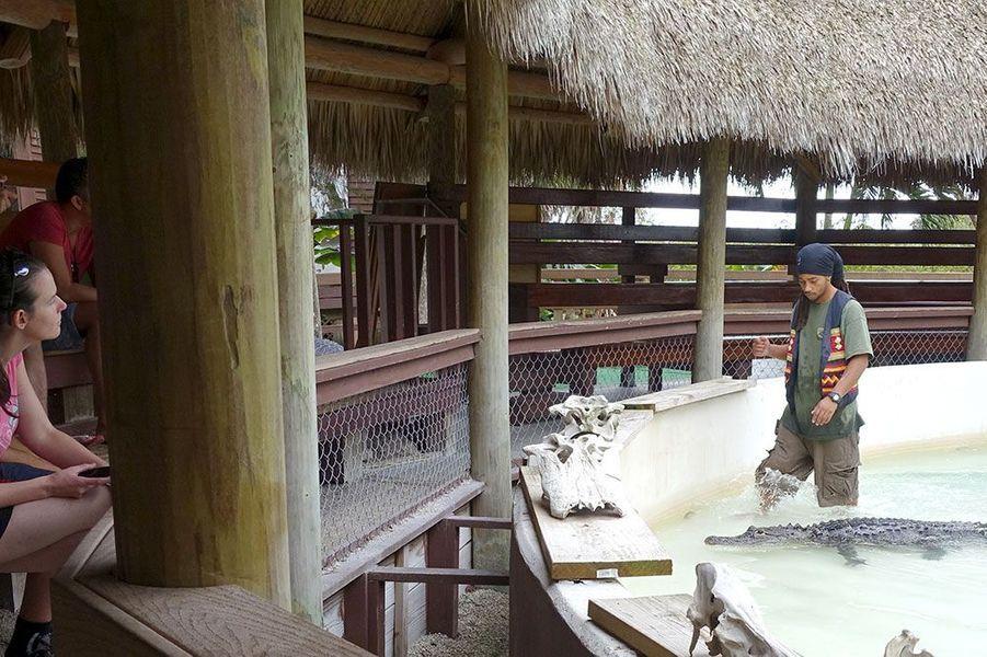 Rocky Jim était l'un des derniers dresseurs d'alligators