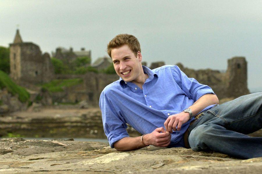 William à 20 ans, en mai 2003