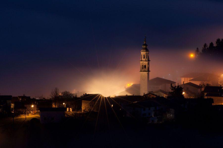 San Luca, un village dans les nuages