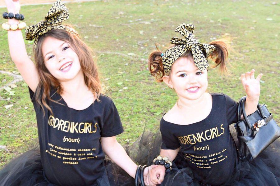 Scarlett et Isabelle, fashion victimes à deux et trois ans
