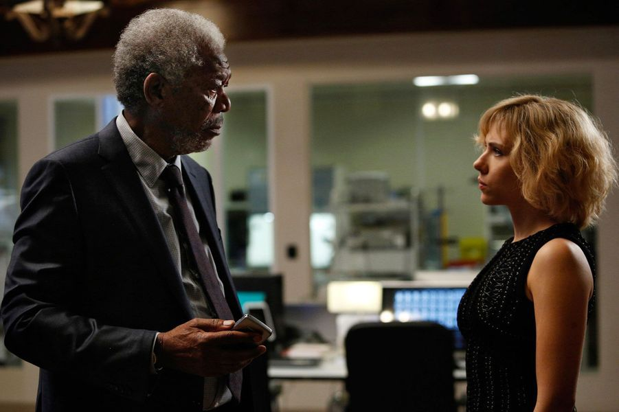"Morgan Freeman (""Lucy"")"