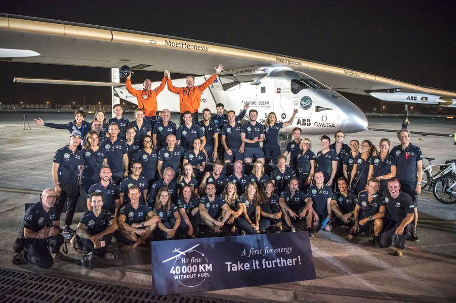 L'équipe de Solar Impulse