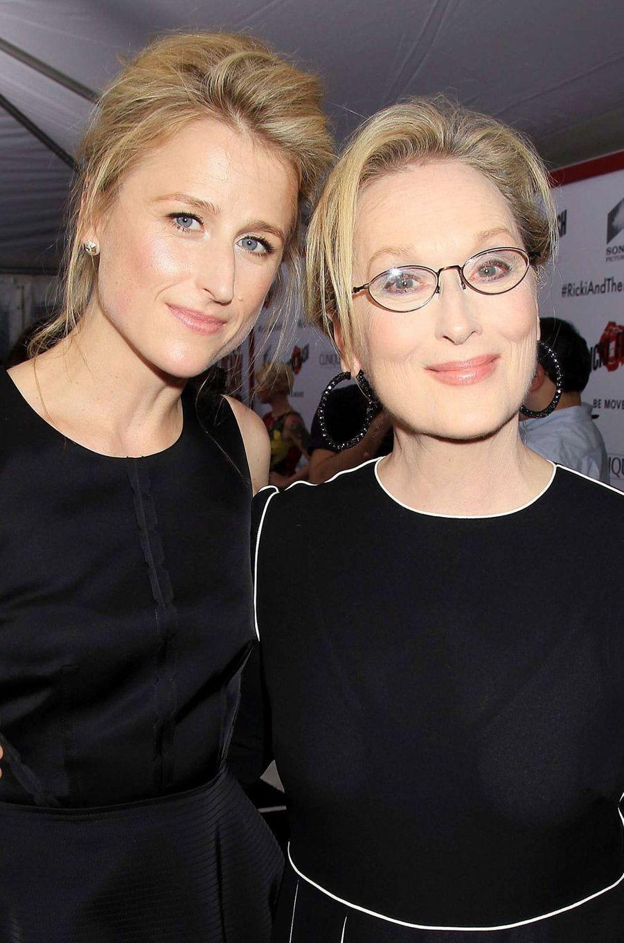 Meryl Streep et sa fille Mamie Gummer