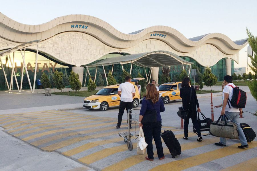 Reyhanli, un des points de passage de la Turquie à la Syrie pour les djihadistes