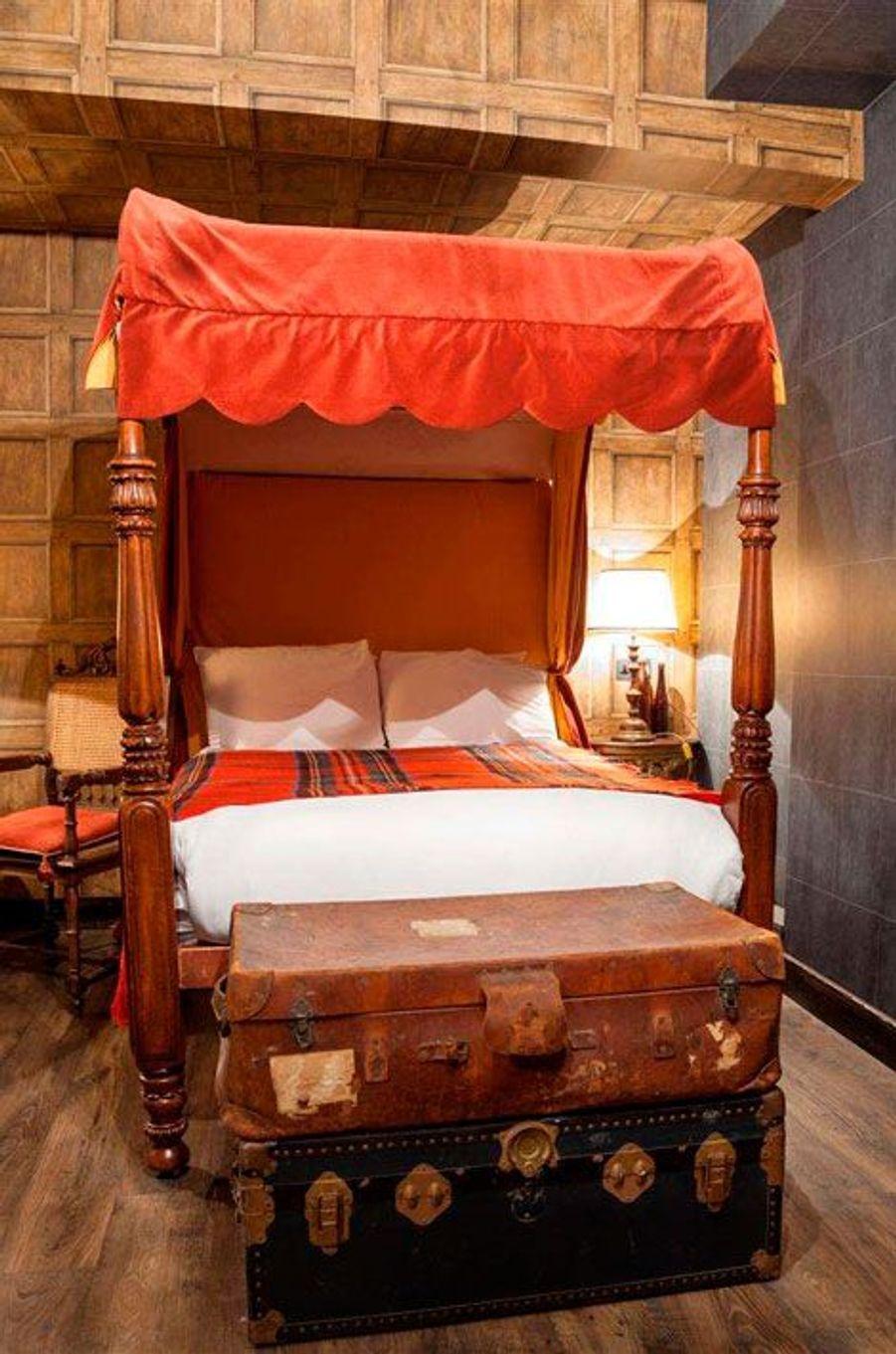 Les dortoirs de Poudlard reconstitués