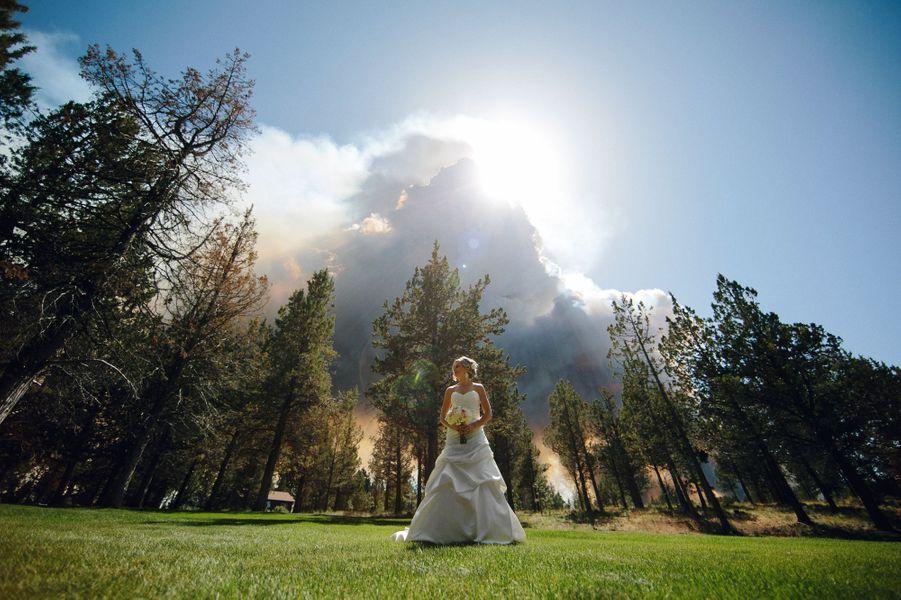 Un mariage dans les flammes