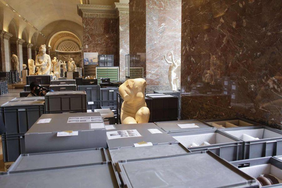 Le Louvre a mis ses trésors à l'abri