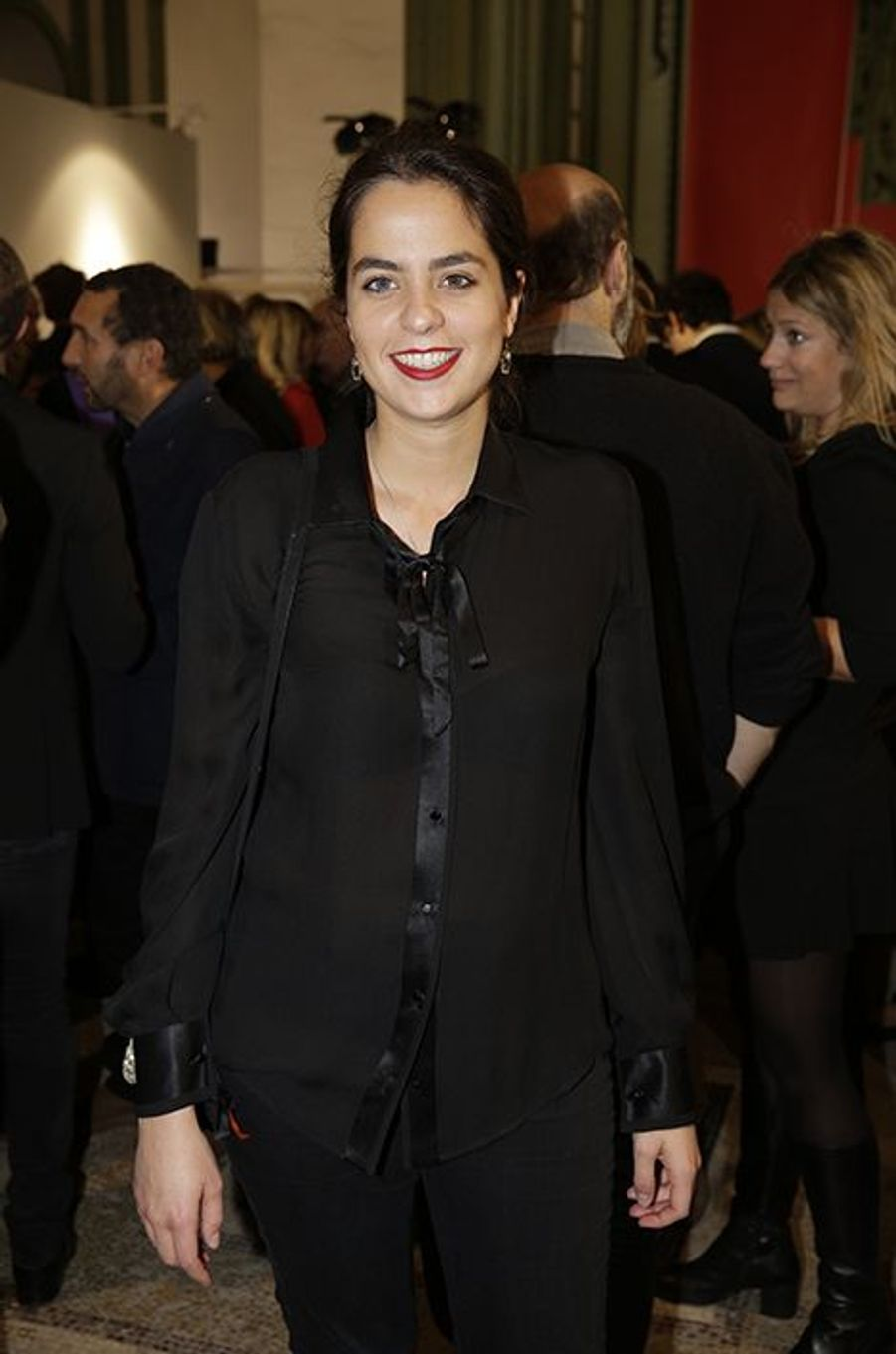 Anouchka Delon à Paris le 22 octobre 2014