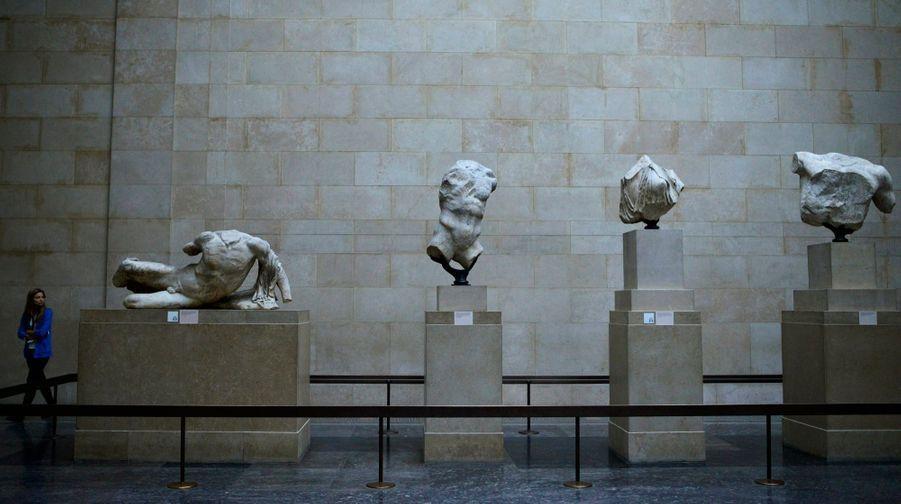 Les Marbres Du Parthénon Au British Museum, À Londres