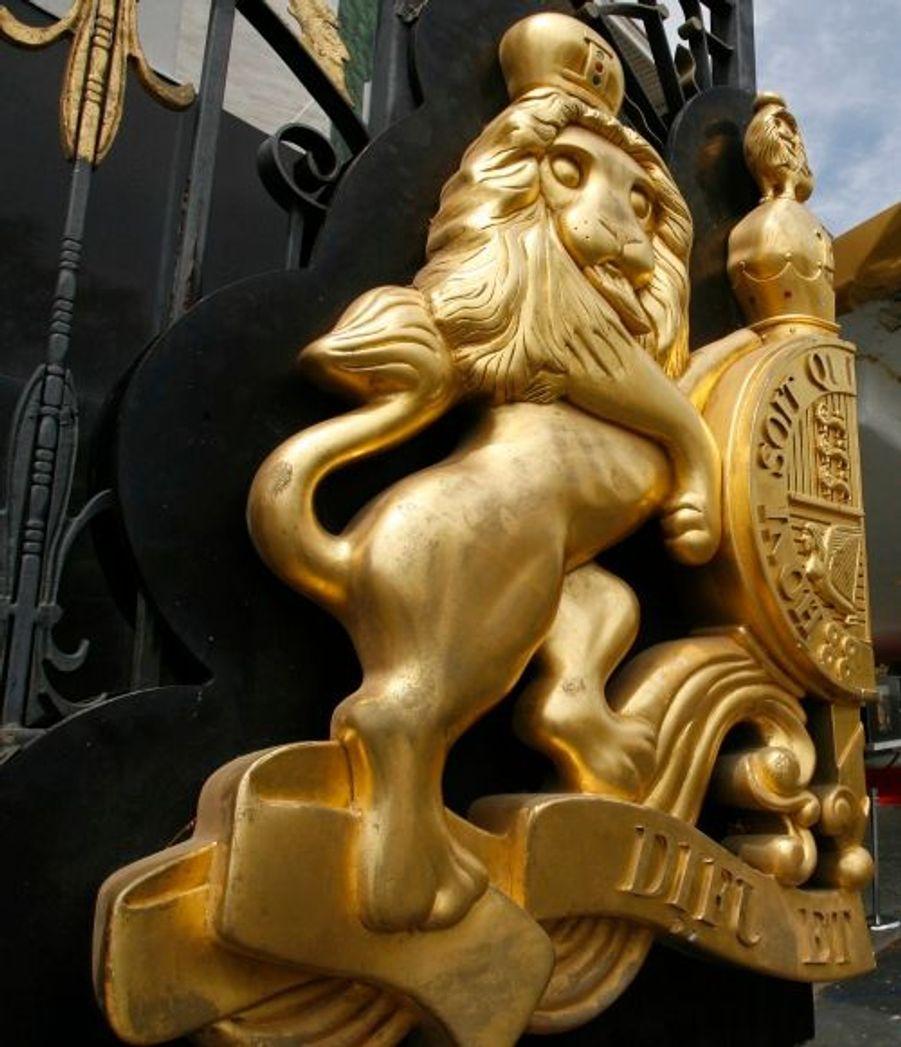 Toujours le portail d'entrée de Neverland, en détail.