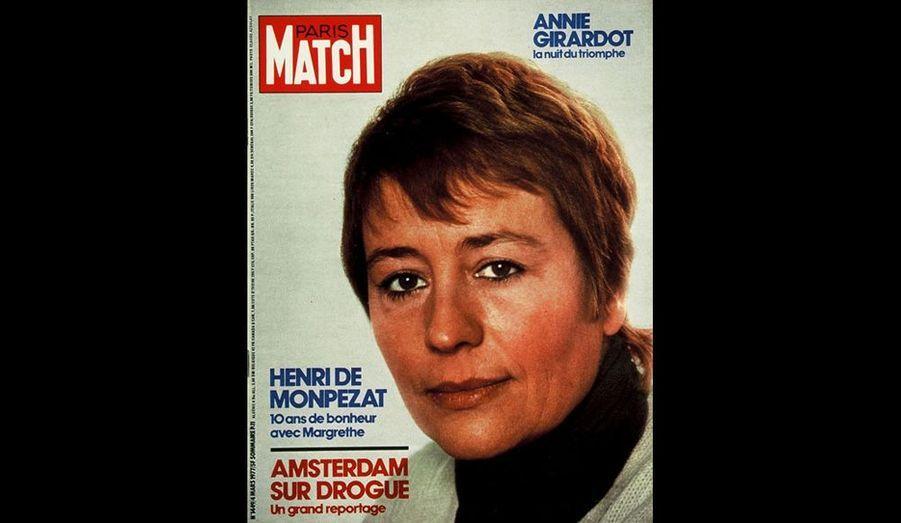 C'est ce rôle de Françoise Gailland, dans le film de Jean-Louis Bertucelli, qui lui vaut le César de la meilleure actrice salué par Paris Match.
