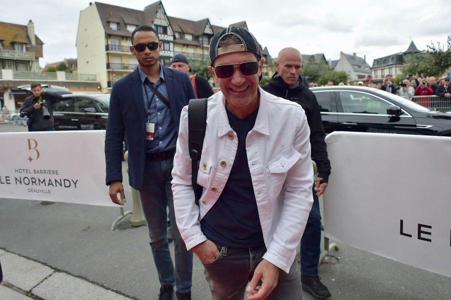 Antonio Banderas lors du 43e Festival du cinéma américain de Deauville.