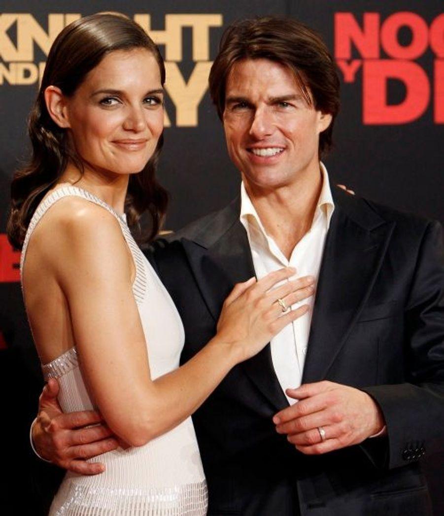 Pour cette avant-première, Katie Holmes était aux côtés de son mari.