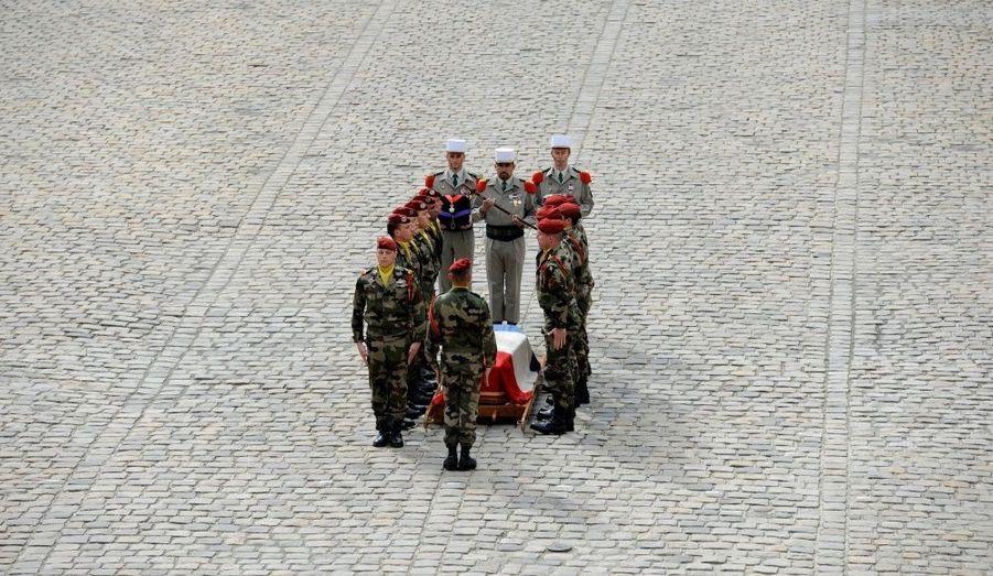 Hommage des soldats