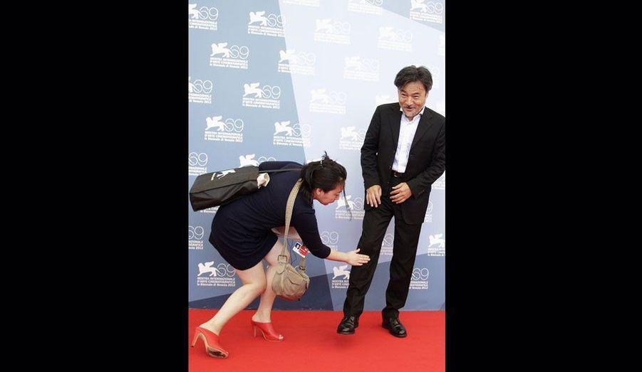 """Le réalisateur japonais de """"Penance""""."""