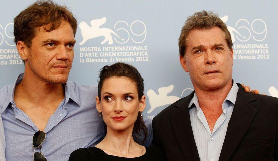 """Les trois stars américaines du film """"Iceman""""."""