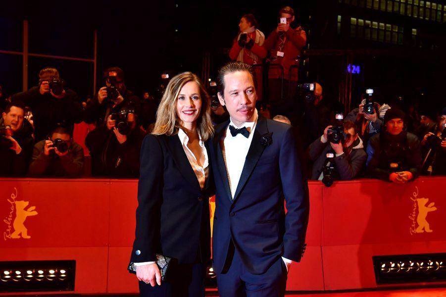 """Cécile de France et Reda Kateb, stars de """"Django"""" d'Etienne Comar, film d'ouverture du 67e Festival de Berlin."""