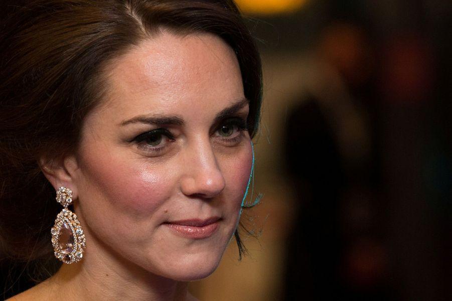 Kate de Cambridge lors de la cérémonie des Baftas.