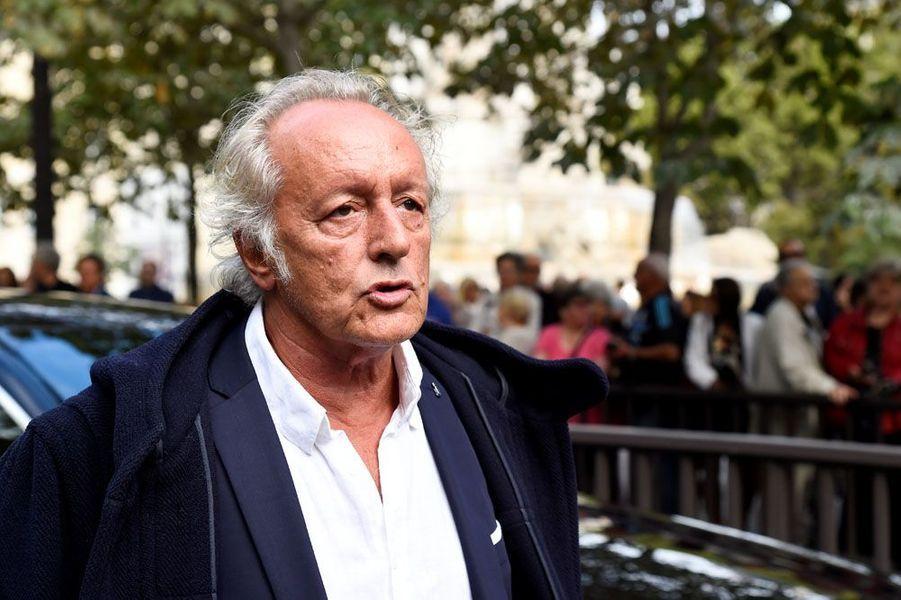 Didier Barbeliviena assisté aux obsèques de Mireille Darc.