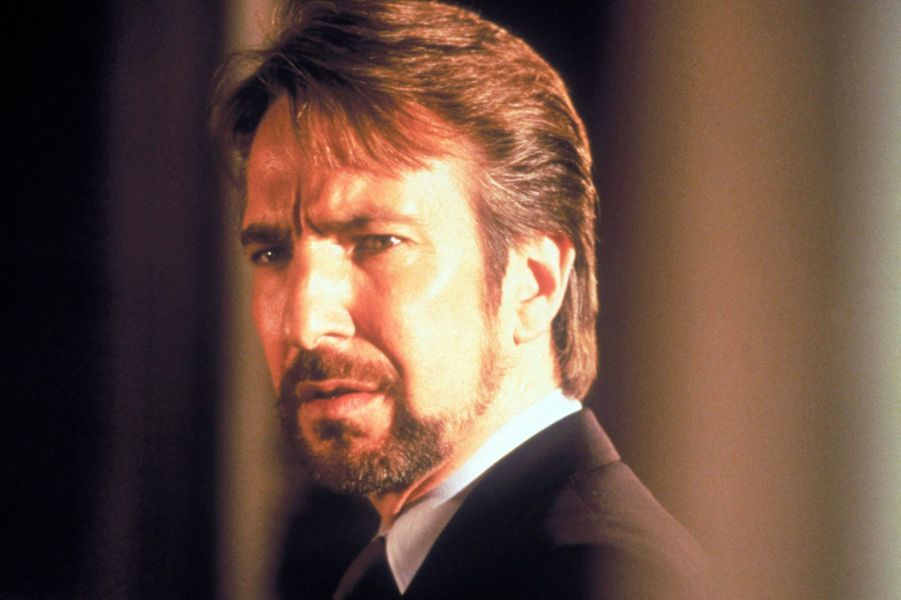 """Alan Rickman dans """"Die Hard"""", en 1988"""