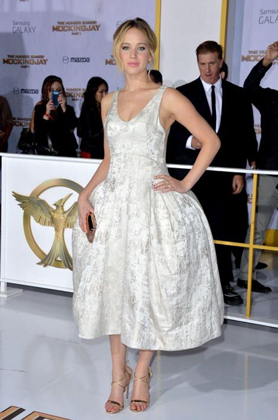 Jennifer Lawrence à Los Angeles le 17 novembre 2014