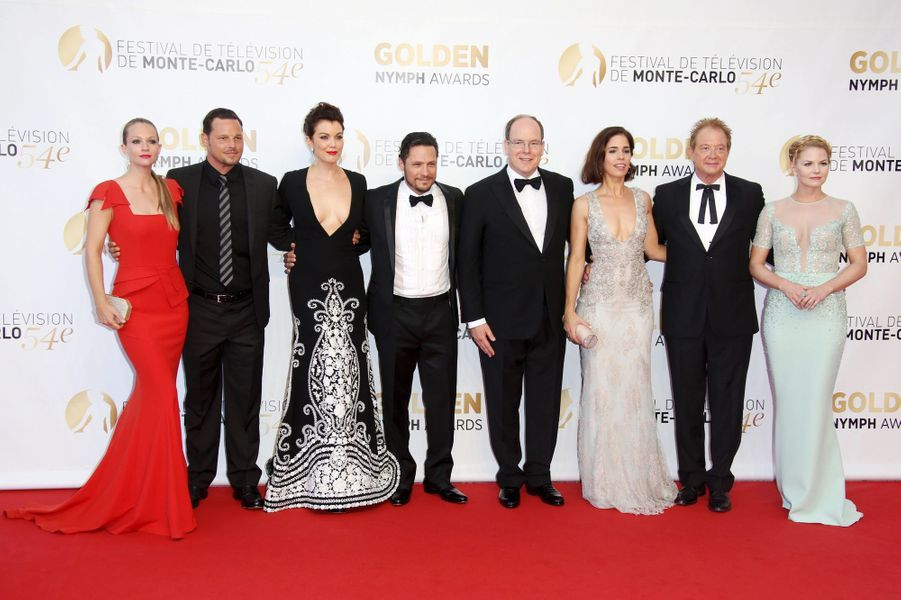 A.J. Cook, Justin Chambers, Bellamy Young, Nick Wechsler, Prince Albert II, Ana Ortiz, Jeff Perry et Jennifer Morrison