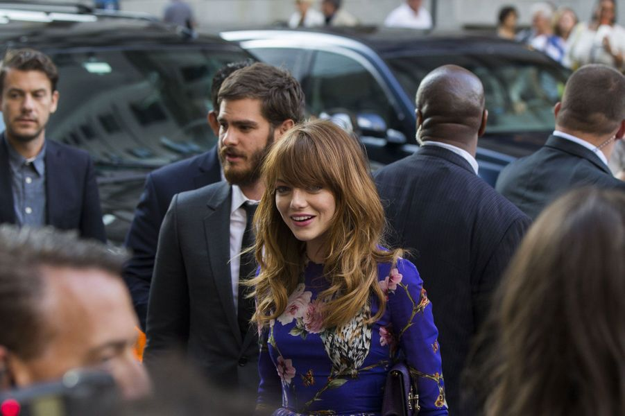 Emma Stone, star amoureuse à New York