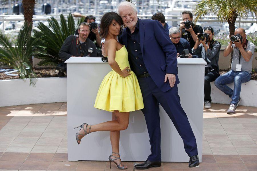 Florence Foresti et André Dussollier à Cannes le 22 mai 2015