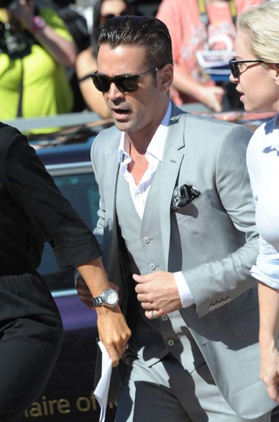 Colin Farrell à Cannes le 15 mai 2015