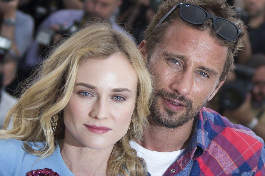 Diane Kruger et Matthias Schoenaerts à Cannes le 16 mai 2015